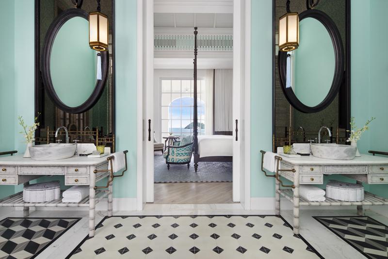 phòng tắm Turquoise - elle man