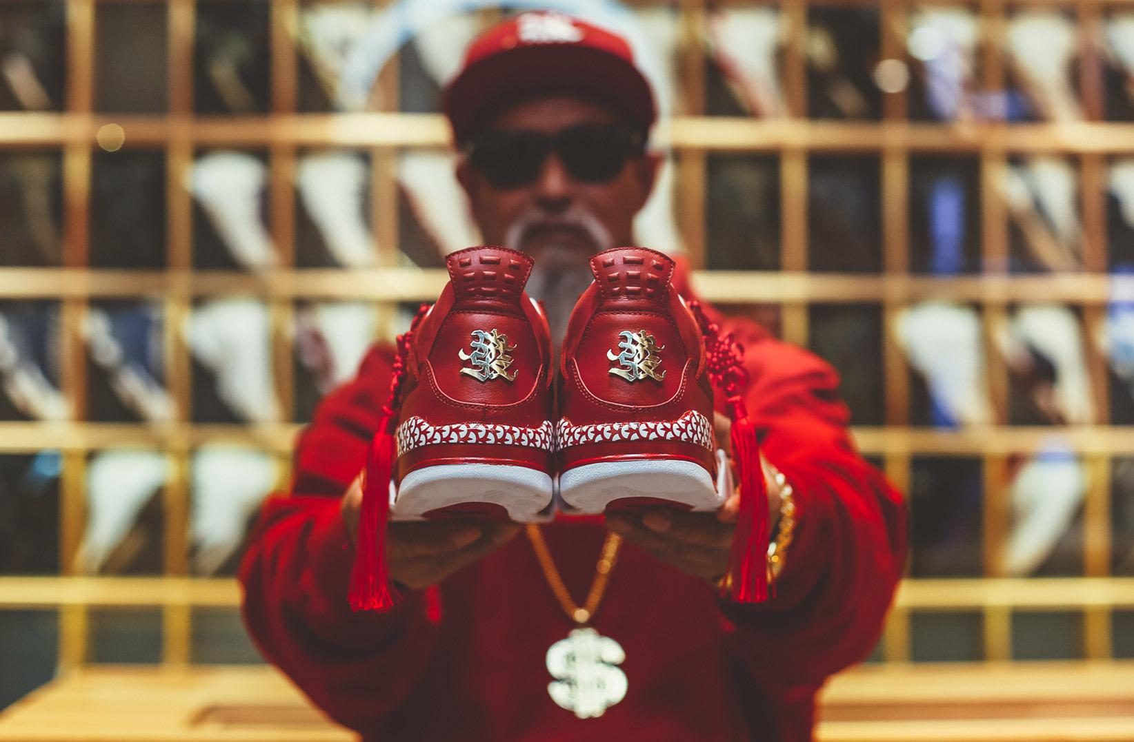 Nike mừng Tết cổ truyền với Air Jordan 4 'CNY' Custom