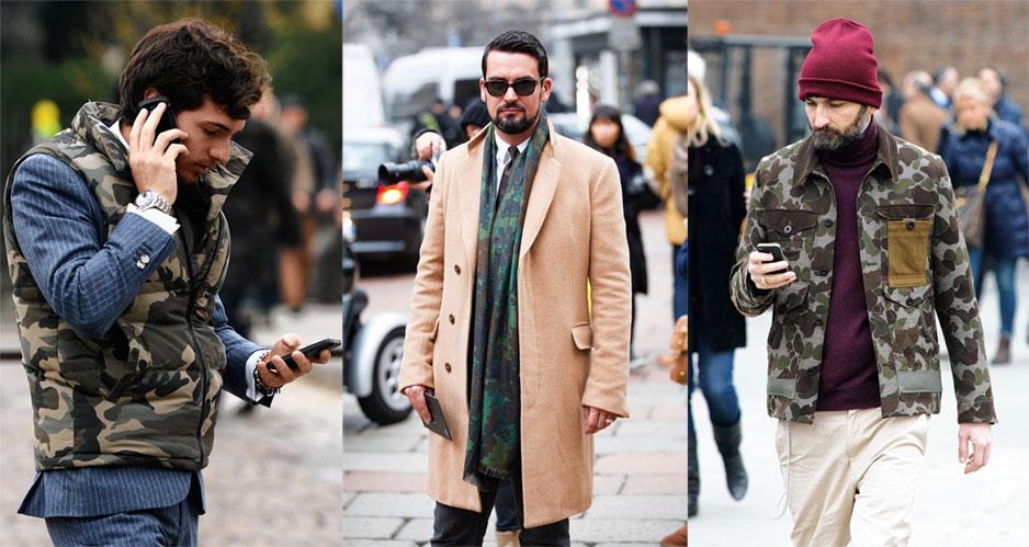 4 hoạ tiết xu hướng thời trang - camo - elle man.