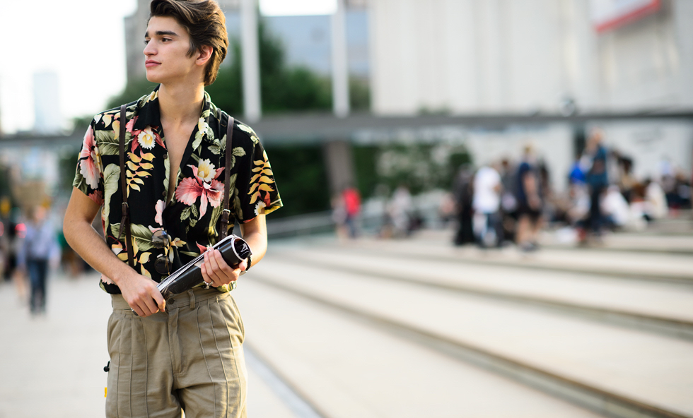 4 hoạ tiết xu hướng thời trang - floral - elle man
