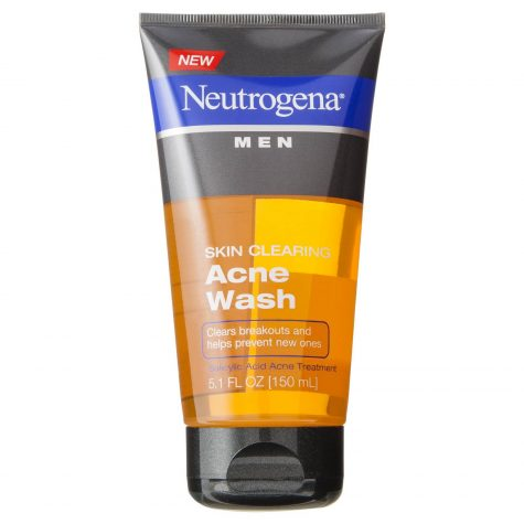 chăm sóc da, Neutrogena Men Skin Clearing Acne Wash - elle man