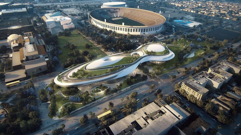 Diện mạo của bảo tàng Star Wars khi hoàn thành tại L.A