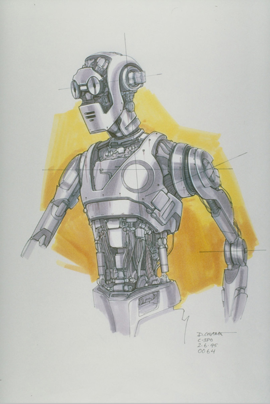Robot phiên dịch C-3PO.