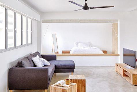 Nhà tối giản - Phong cách sống của quý ông độc thân hiện đại