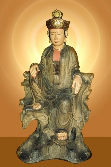 tượng phật khổng lồ, Bồ tát Quán Thế Âm tọa sơn - elle man 2