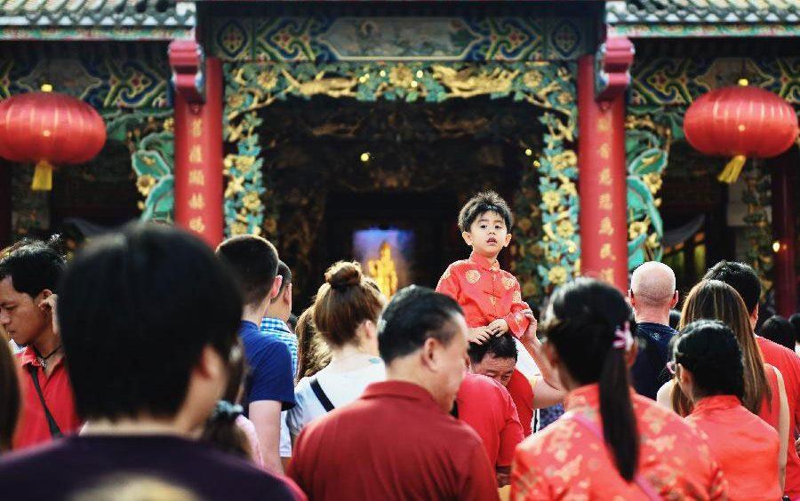 Thái Lan - Chinese Temple - elle man