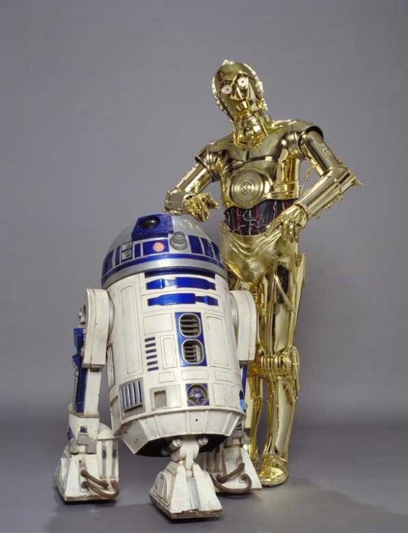 star wars - R2-D2 & C-3PO - elle man