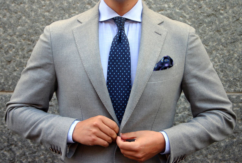 suit nam - tie & suit colors - elle man