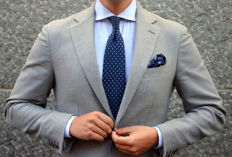suit nam - tie & suit colors - elle man