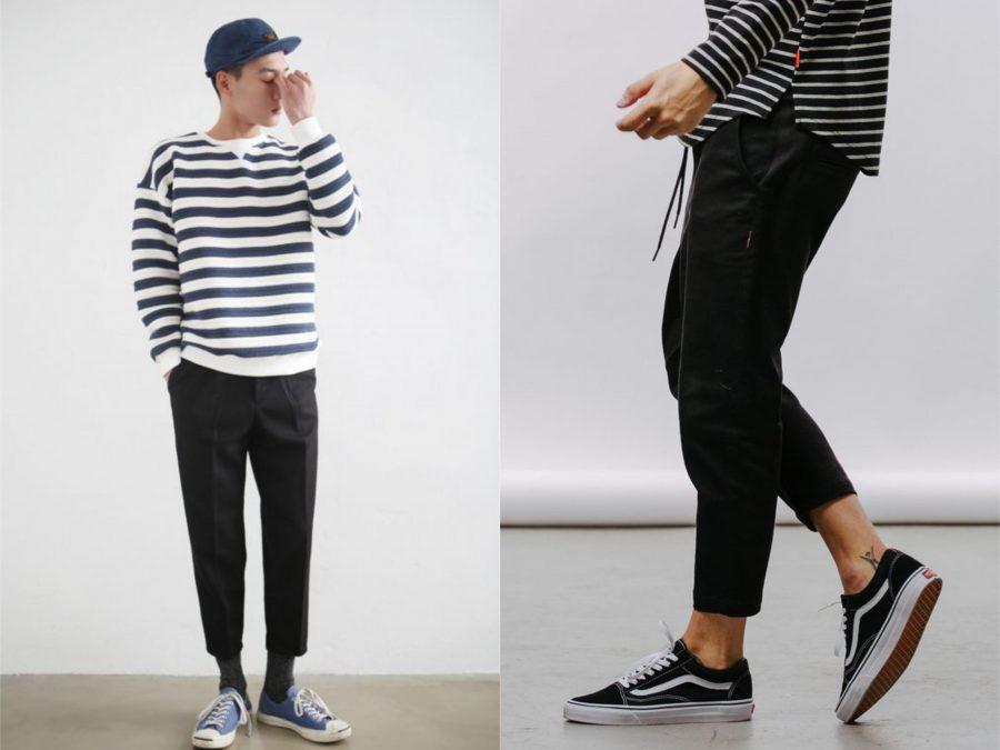 xu hướng thời trang, áo kẻ ngang - elleman 5