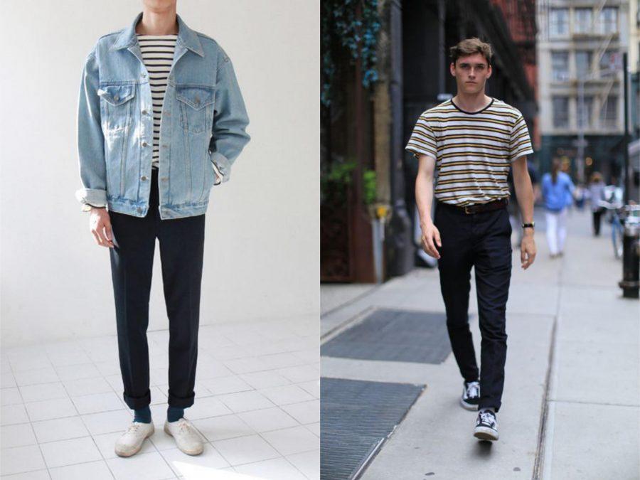 xu hướng thời trang, áo kẻ ngang - elleman 6