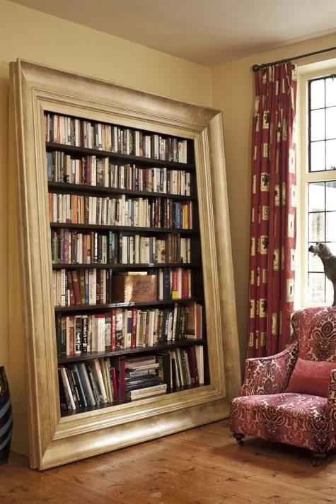 Cải tạo không gian sống với những cuốn sách