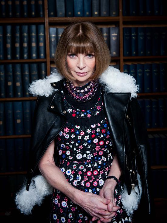 Anna WIntour, Tổng biên tập của Tạp chí Vogue US.