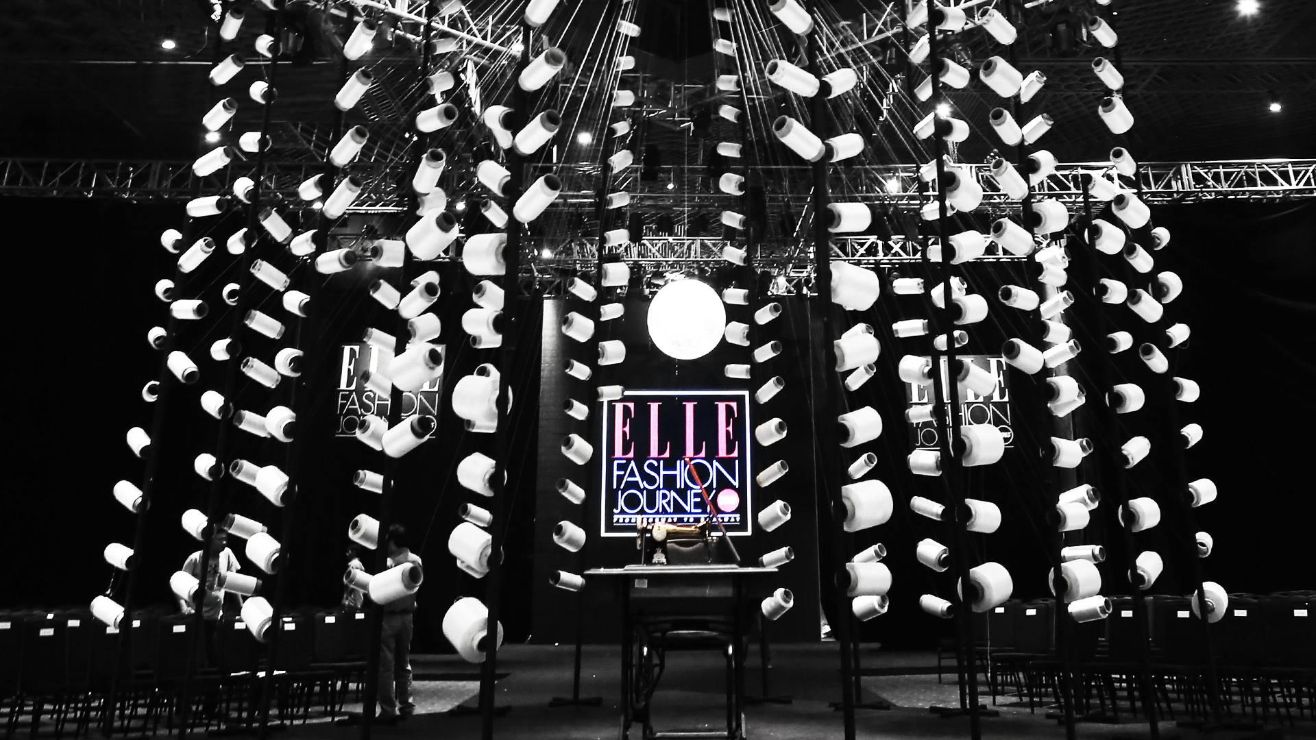 Sân khấu ELLE Fashion Show 2015.