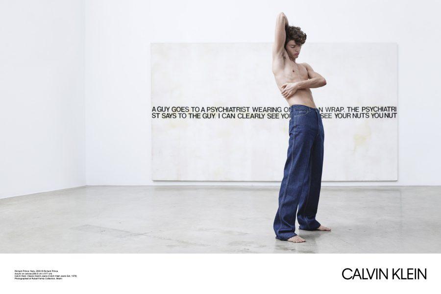 Logo mới trong chiến dịch đầu tay của Raf Simons & Calvin Klein