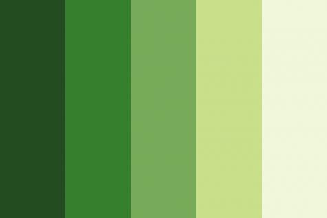 Xu hướng màu Pantone năm 2017: phối đồ thế nào với màu xanh lá?