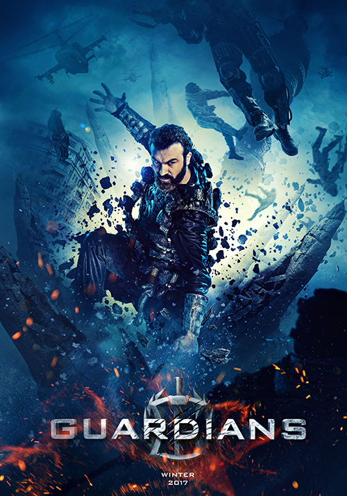 siêu chiến binh Guardians - poster 3 - elle man