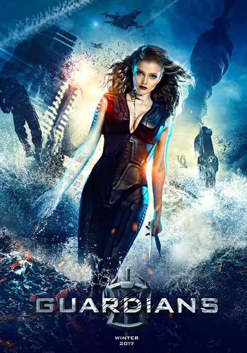 siêu chiến binh Guardians - poster 4 - elle man