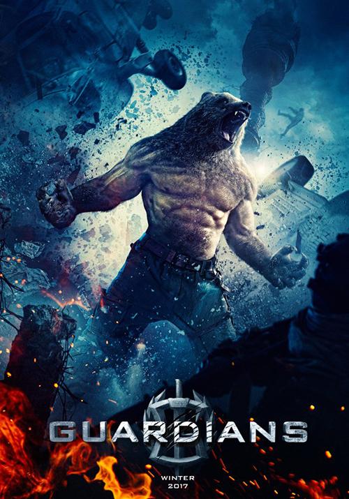 siêu chiến binh Guardians - poster 5 - elle man