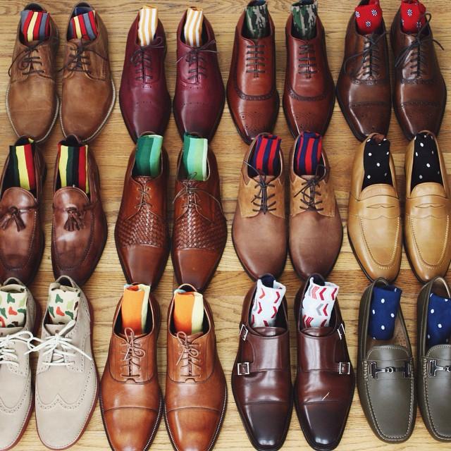 tu quan áo - shoes collection - elle man