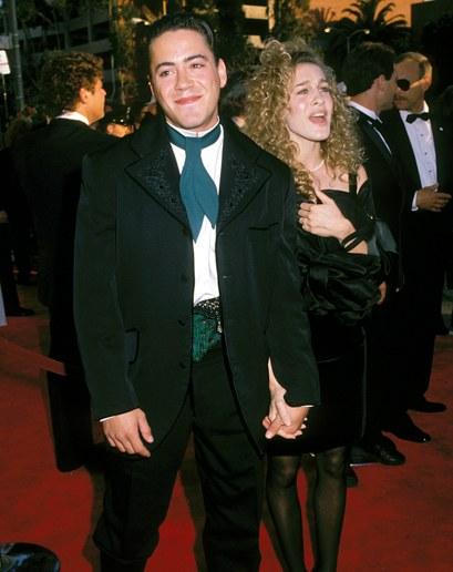 Thời trang Oscar - RDJ thời trẻ tại Oscar 1989
