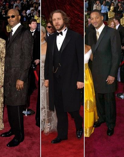 Thời trang Oscar - Will Smith, Russell Crowe và Samuel L. Jackson, 2002