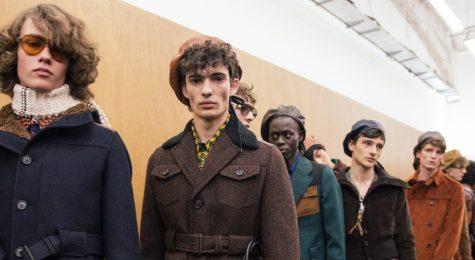 BST thời trang Thu Đông Prada 2017 – Khi quá khứ gặp gỡ tương lai