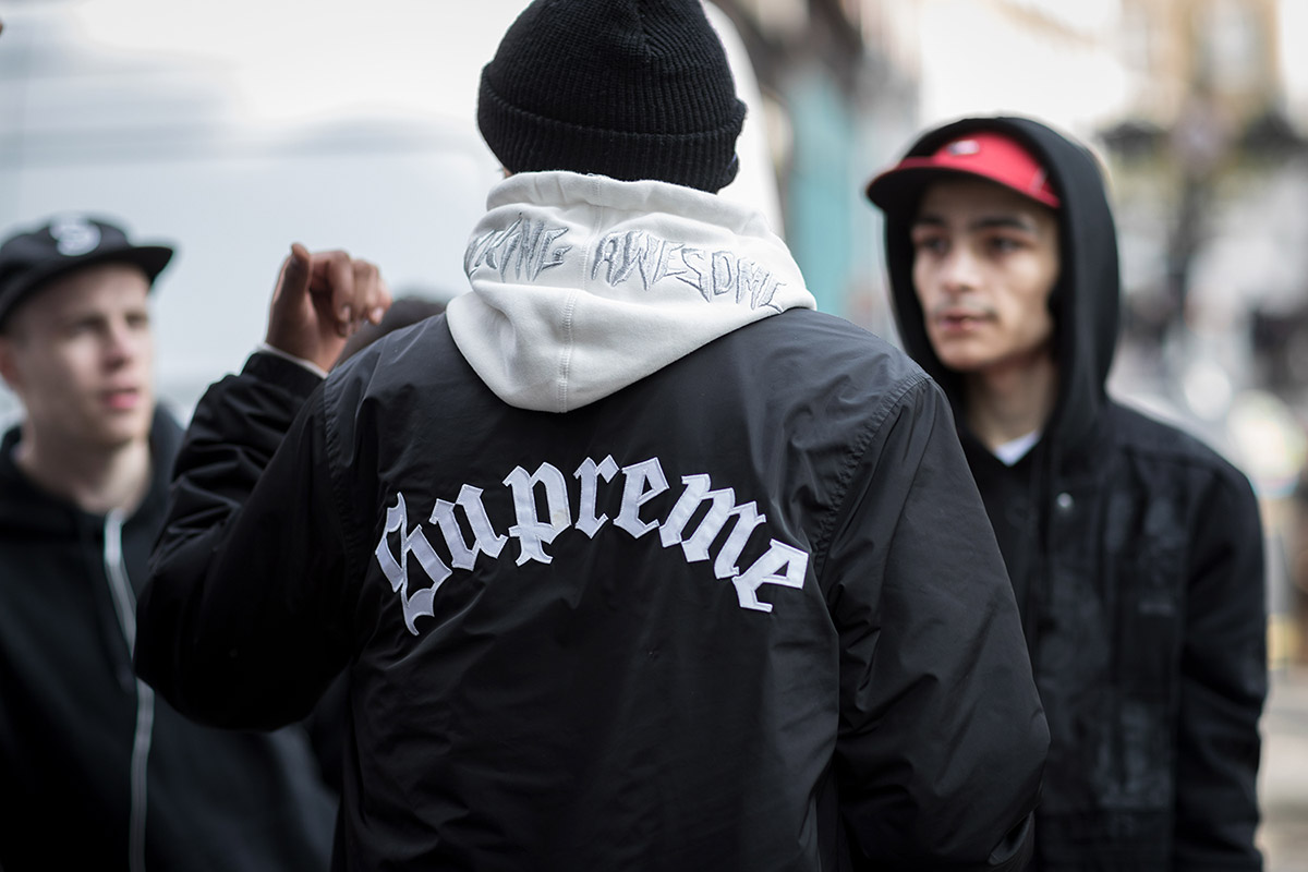 lacoste x supreme streetwear london - elle man 5