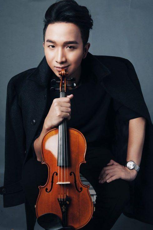 Hoàng Rob mong ước sở hữu một cây đàn violin từ khi còn là một cậu bé 9 tuổi.