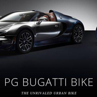 PG Bugatti Bike, siêu xe đạp của Bugatti & PG
