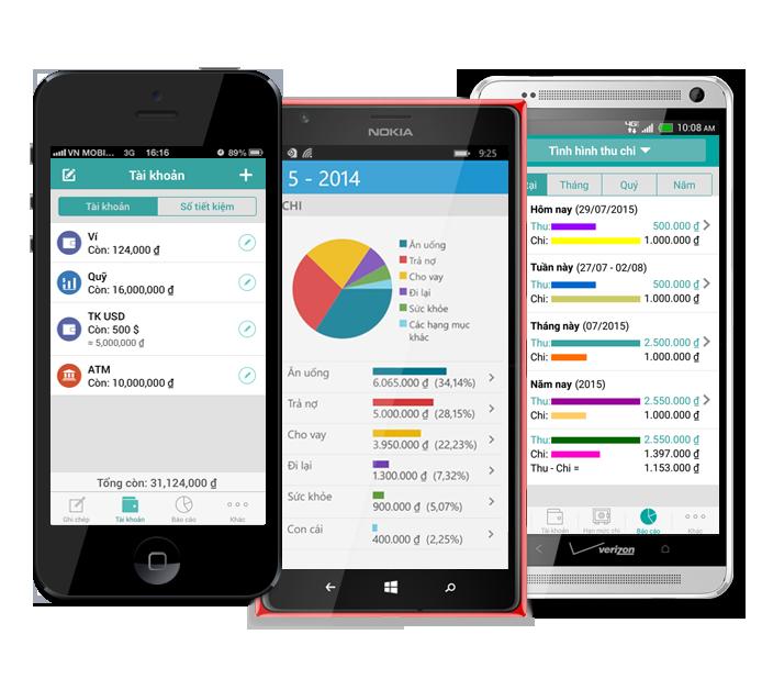 5 ứng dụng di động giúp bạn quản lý chi tiêu tốt nhất