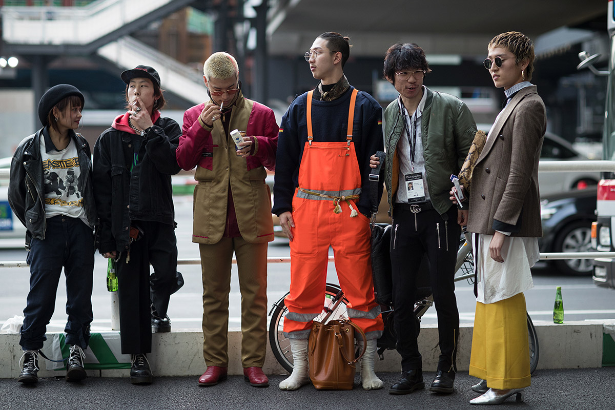 Tokyo Fashion Week - elle man 1