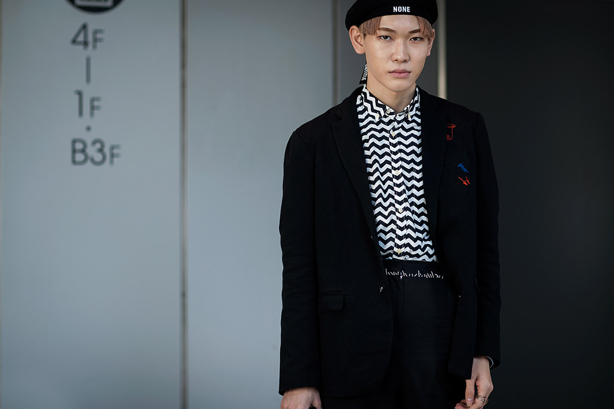 Tokyo Fashion Week - elle man 2