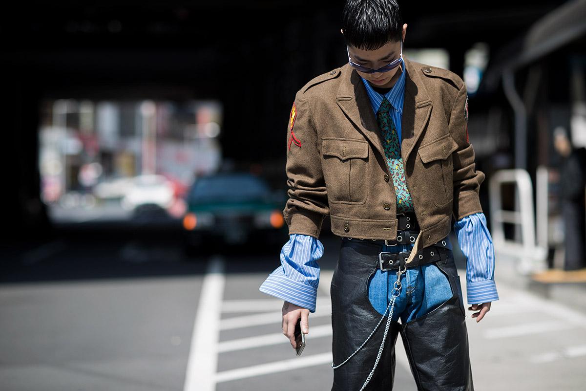 Tokyo Fashion Week - elle man 24