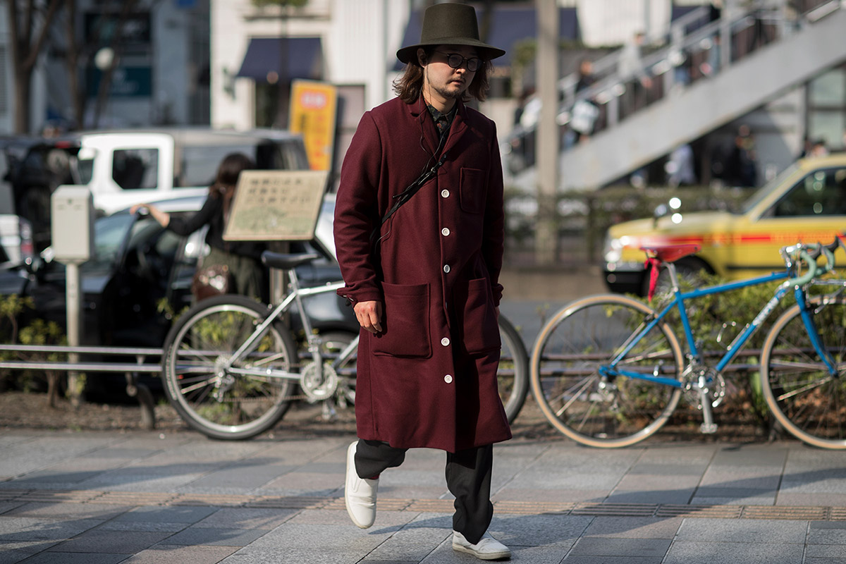 Tokyo Fashion Week - elle man 6