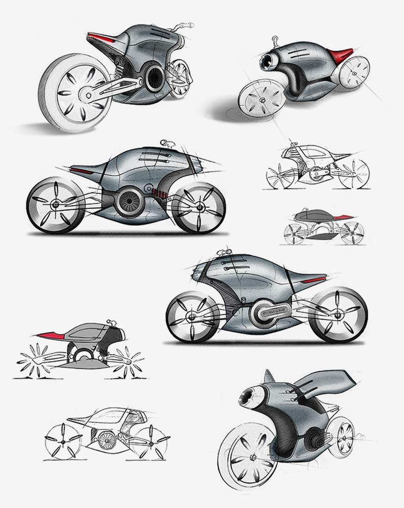 xe moto porsche 618 1