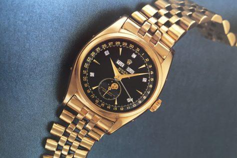 Bán đấu giá đồng hồ Rolex của vua Bảo Đại