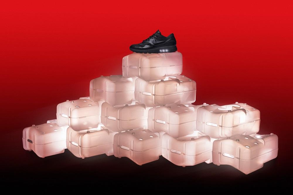 Thiết kế hộp giày Nike Air Max được làm từ…rác tái chế