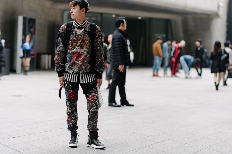 seoul fashion week 2017 - elle man 10
