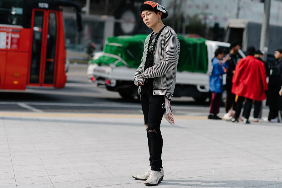 seoul fashion week 2017 - elle man 3