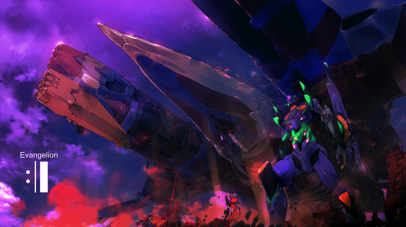 phim hoat hinh anime - Evangelion 3.0+1.0 - elle man