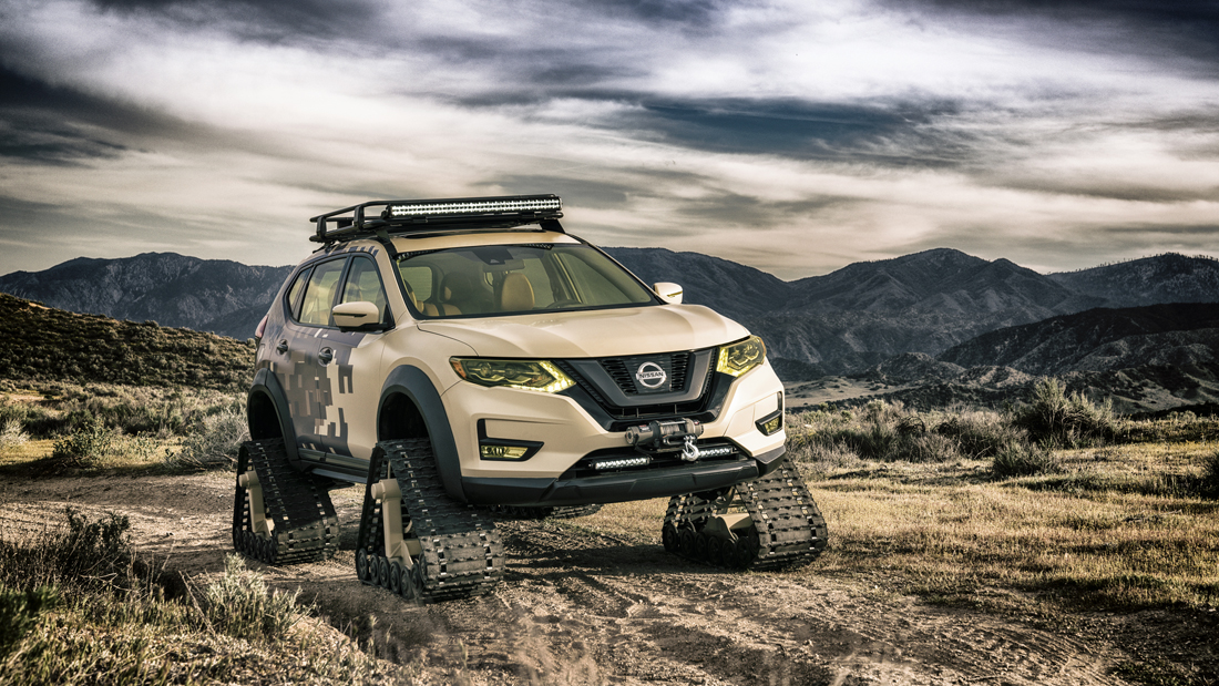 trien lam oto - elle man - feature- Nissan_Rogue_Trail_Warrior_Project