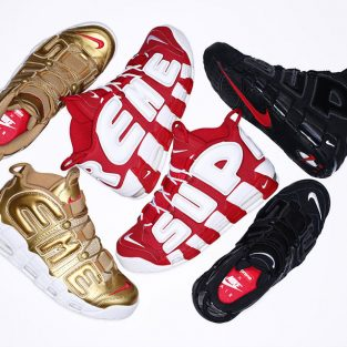 Supreme & Nike ra mắt collabs Air Uptempo