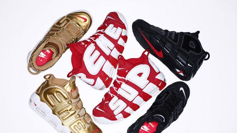Supreme & Nike ra mắt collabs Air Uptempo