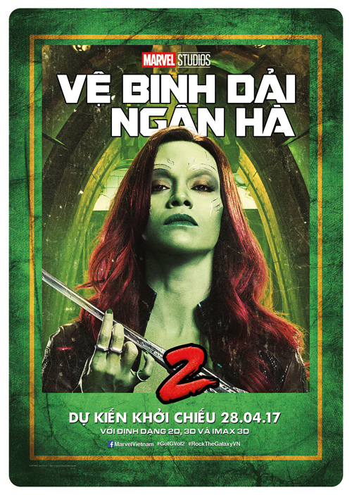 Gamora (Zoe Salnada) - ve binh dai ngan ha - elle man