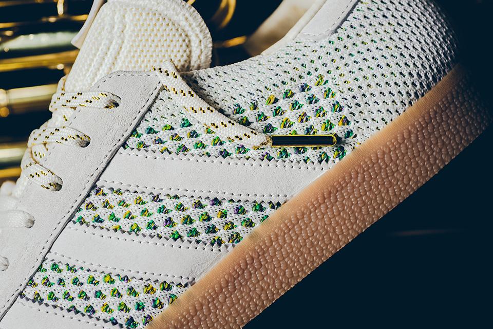 "giay the thao adidas 2017 - Sneaker Politics x adidas Consortium Gazelle ""Mardi Gras"" - elle man 2"