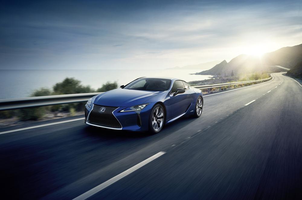 xe hoi dep - Lexus LC - elle man 1