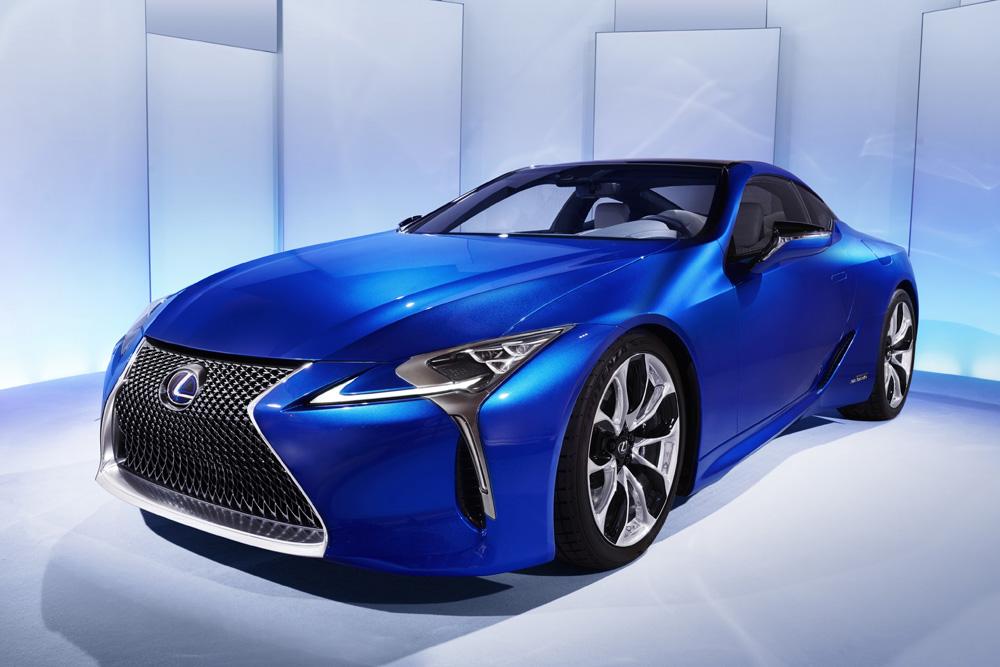 xe hoi dep - Lexus LC - elle man 2