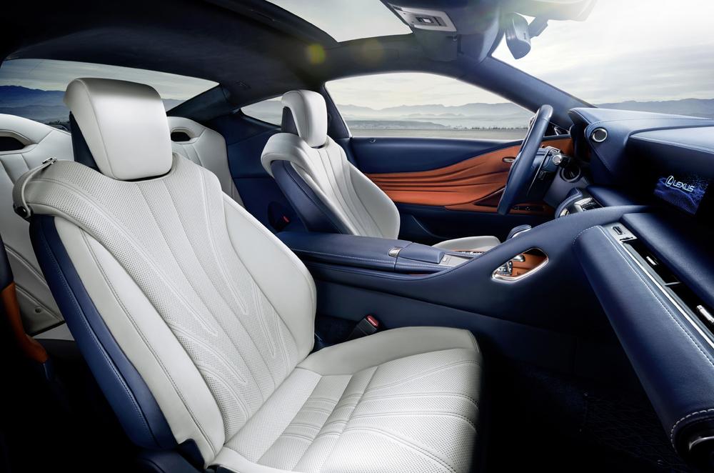 xe hoi dep - Lexus LC - elle man 4
