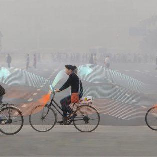 """Xe đạp lọc không khí Smog Free: đạp xe để """"xanh hóa"""" đô thị"""